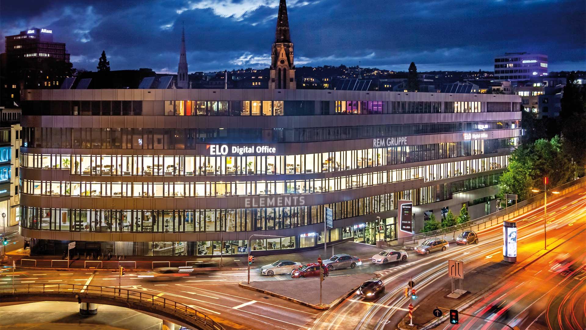 ELO Gebäude Stuttgart