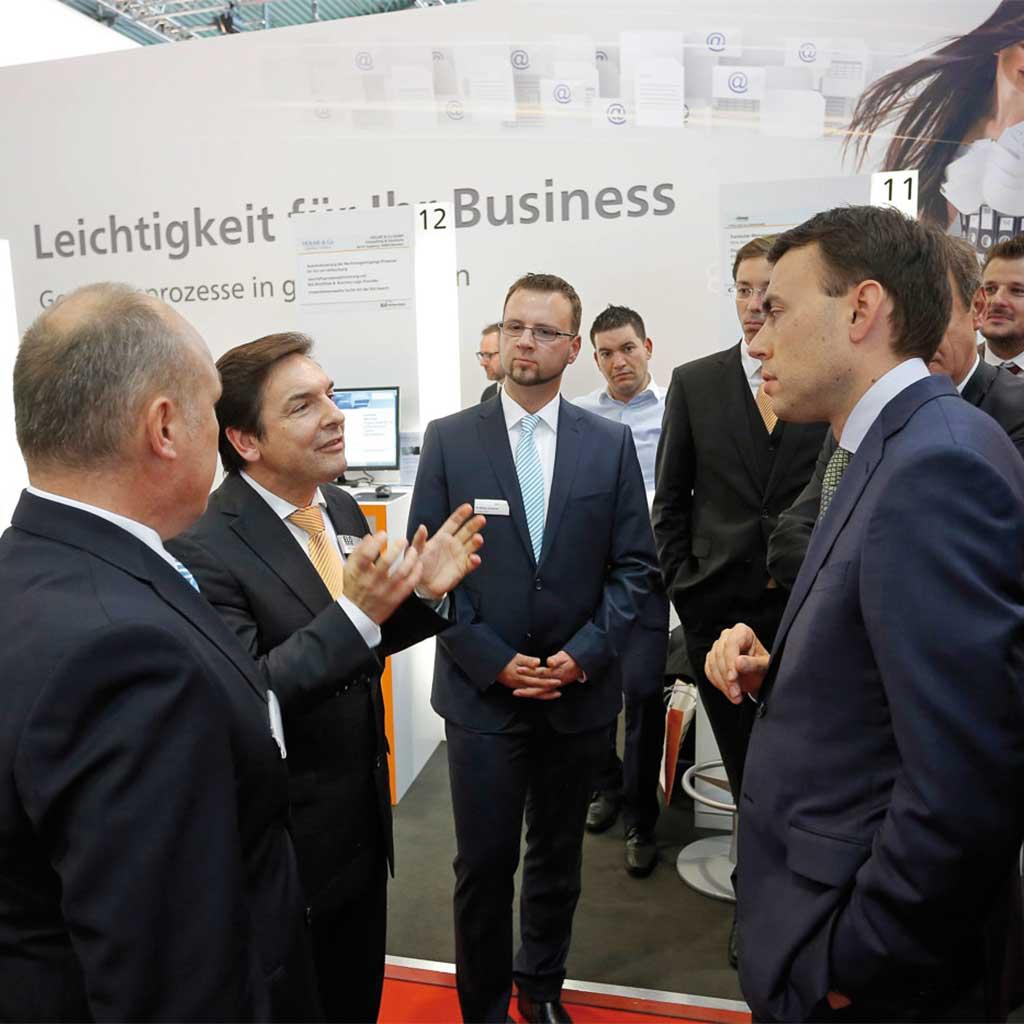 Karl Heinz Mosbach im Gespräch mit Dr. Nils Schmid, dem ehemaligen Landesminister für Finanzen und Wirtschaft