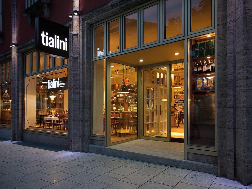 Heller Designstudio, tialini, Restaurant, Stuttgart