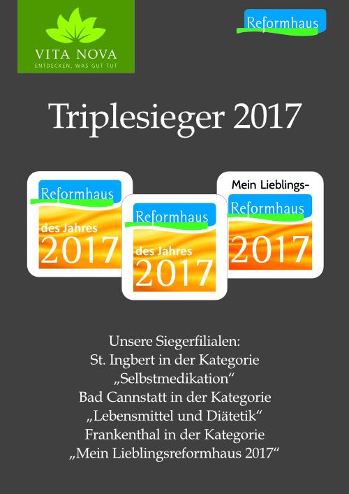 Tripelsieger Reformhaus Escher