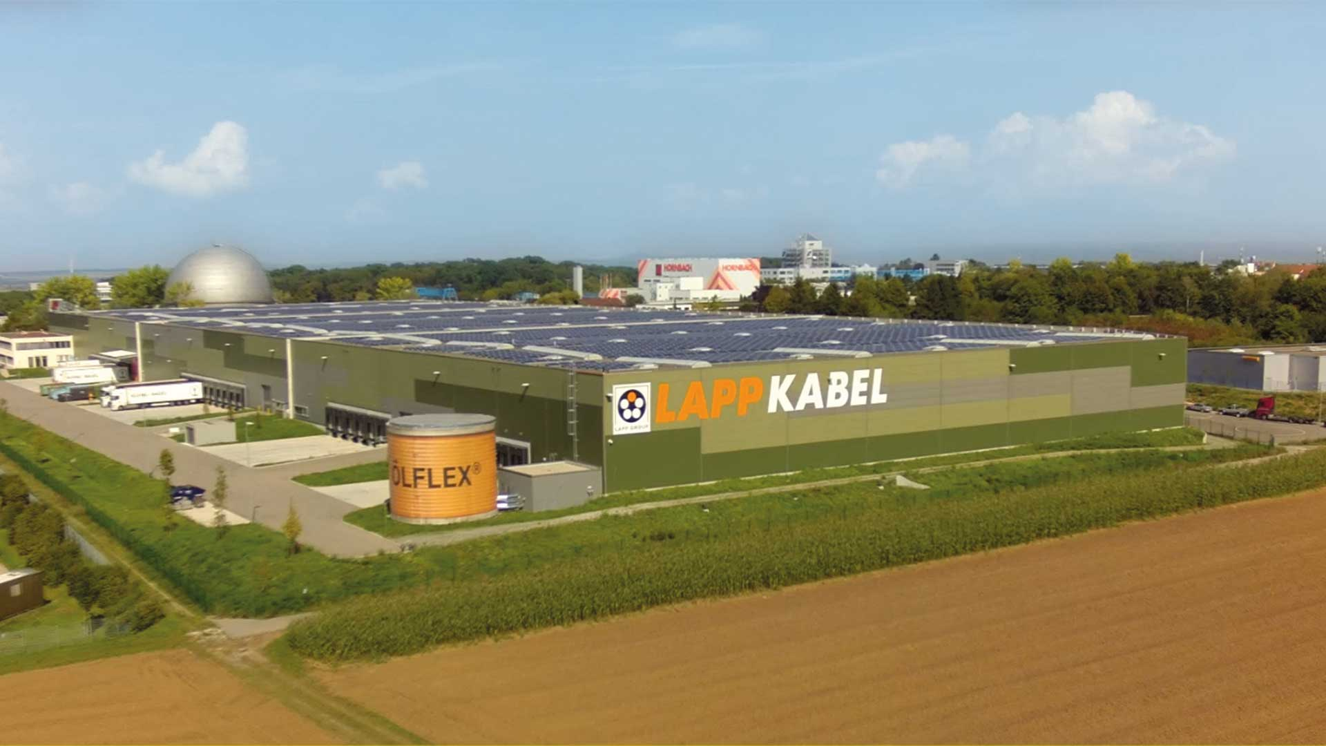 Lapp greenfield Dienstleistungspark Ludwigsburg 30.000 m²
