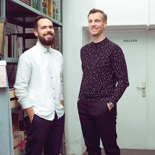 Heller Designstudio, Christopher und Marcel Heller