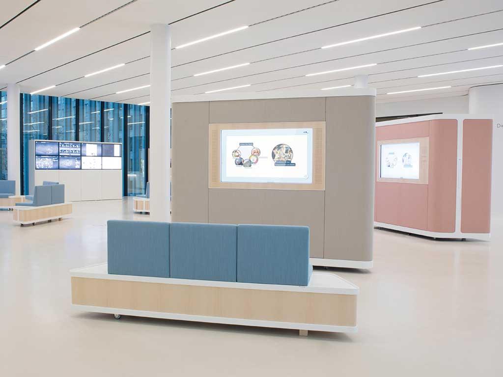 Heller Designstudio, Nestlé Kompetenzcenter, Frankfurt