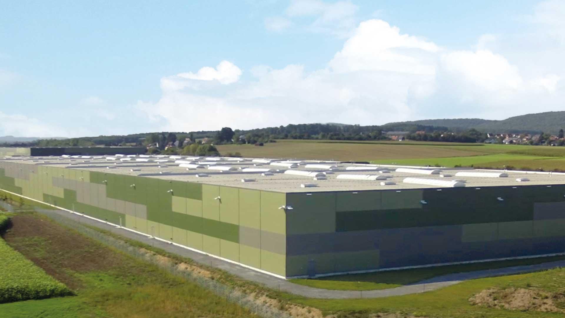 greenfield Logistikpark Vaihingen-Enz 85.000 m²